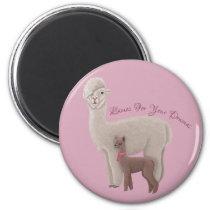 Llamas for your dramas magnet