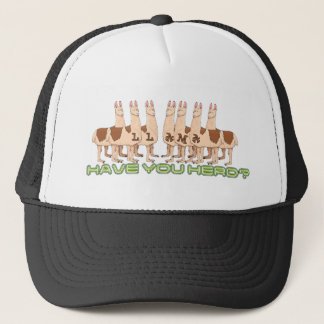 LLAMAS - HAVE YOU HERD? TRUCKER HAT