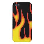 Llamas iPhone 5 Cárcasas