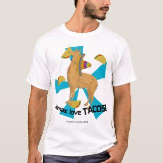 Llamas Love Tacos! T-Shirt