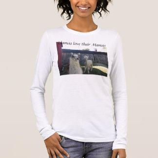 Llamas love their Mamas Long Sleeve T-Shirt