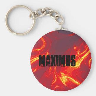llamas, maximus llavero redondo tipo pin