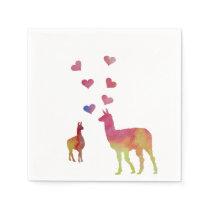 Llamas Napkin