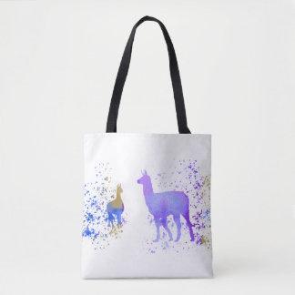 Llamas Tote Bag