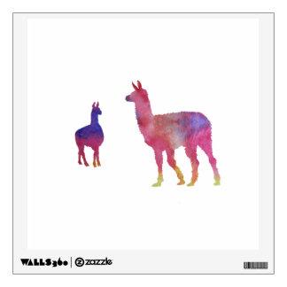 Llamas Wall Decal