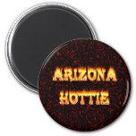 Llamas y fuego de Arizona Hottie Iman Para Frigorífico