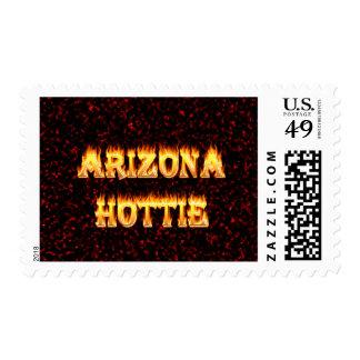 Llamas y fuego de Arizona Hottie Timbres Postales