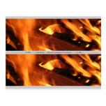 Llamas y fuego postal