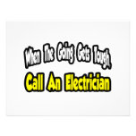 Llame a un electricista invitaciones personales