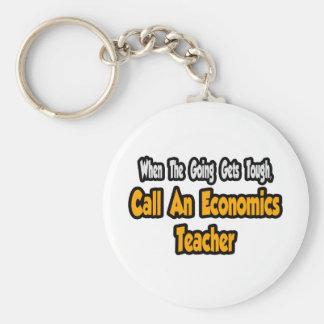 Llame a un profesor de la economía llavero