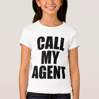 llame mi agente remera