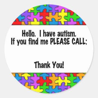 Llame por favor la etiqueta de la identificación
