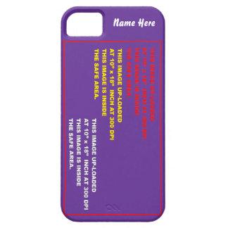 Llame por teléfono a 5 30 colores con indirectas iPhone 5 carcasa