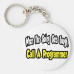 Llame un programador llaveros