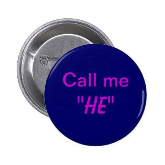 Llámeleme Pin Redondo De 2 Pulgadas