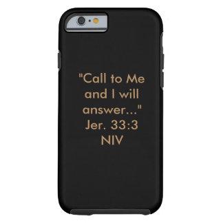 Llámelo caja del teléfono funda de iPhone 6 tough