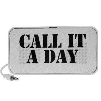 Llámelo un día iPod altavoz