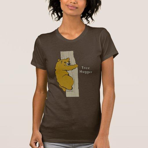 Llámeme camisa de Hugger del árbol de Crazy®