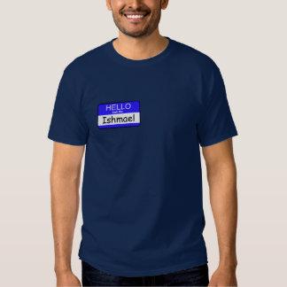 Llámeme camiseta de Ishmael Playeras