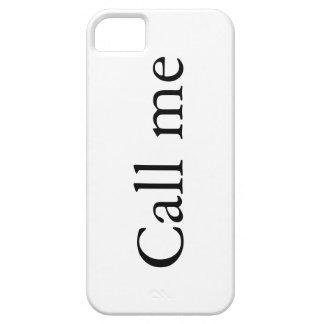 Llámeme - caso del iPhone 5 iPhone 5 Fundas