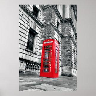 ¡Llámeme cuando usted está en Londres! Poster