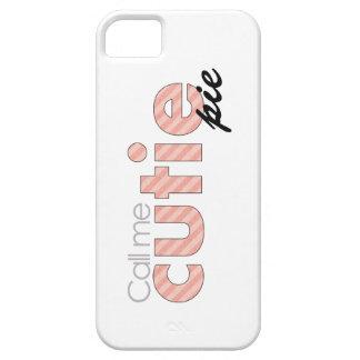 Llámeme empanada de Cutie iPhone 5 Fundas