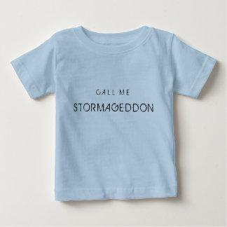 Llámeme Stormageddon Playera De Bebé