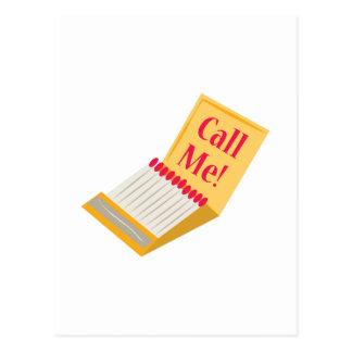 Llámeme Tarjetas Postales
