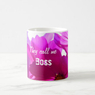 Llámeme taza de Boss para modificar para