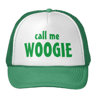 llámeme, WOOGIE Gorras