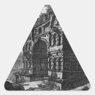 Llamó comúnmente el templo de Jano de Juan Pegatina Triangular