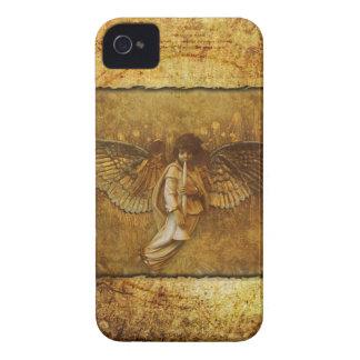 Llamo por teléfono a ángel de 4 casos iPhone 4 funda