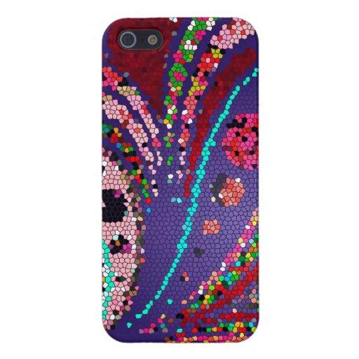 Llamo por teléfono a los colores multi del caso, p iPhone 5 carcasas
