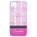 llamo por teléfono a nombre rosado del personaliza iPhone 5 Case-Mate carcasa