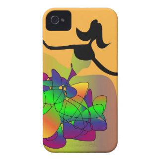 "llamo por teléfono al caso 4 ""el baile de fin de funda para iPhone 4 de Case-Mate"