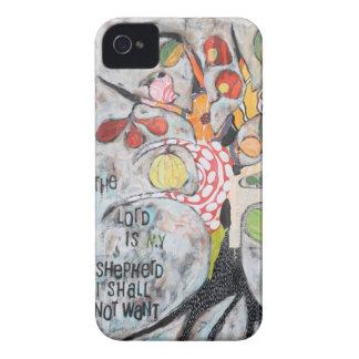 llamo por teléfono al caso con arte original iPhone 4 protectores