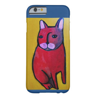 Llamo por teléfono al caso con el gato fresco funda para iPhone 6 barely there