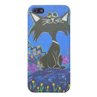 llamo por teléfono al caso - gatito de Kool iPhone 5 Carcasas