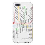 Llamo por teléfono al metro de Praga de 4 casos iPhone 5 Carcasas