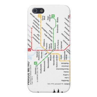 Llamo por teléfono al metro de Praga de 4 casos iPhone 5 Funda