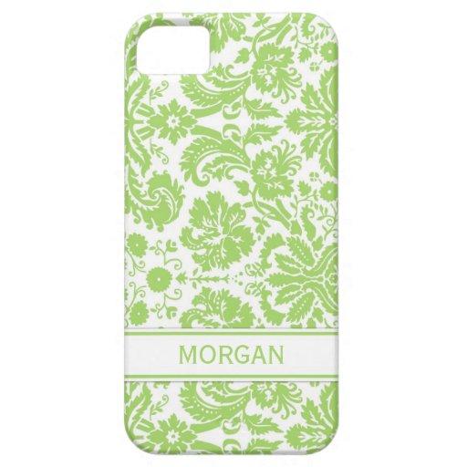 llamo por teléfono al modelo floral del damasco de iPhone 5 Case-Mate cárcasa
