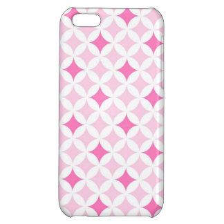 llamo por teléfono al modelo geométrico rosado 5