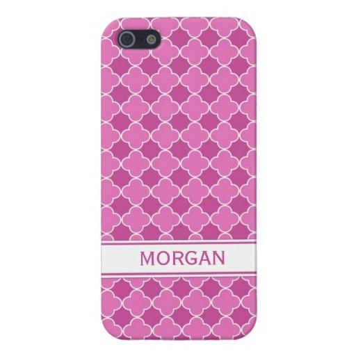 llamo por teléfono al modelo rosado conocido de Qu iPhone 5 Carcasas