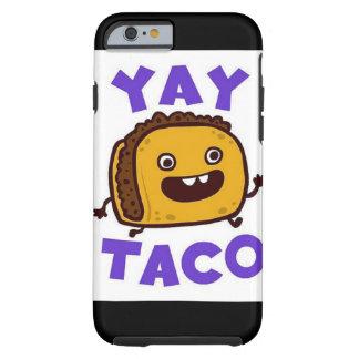 Llamo por teléfono al Tacos Yay del caso 6s Funda Para iPhone 6 Tough