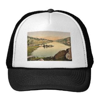 Llanberis and Lyn Peris, Wales rare Photochrom Trucker Hat