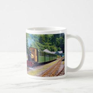 Llanberis Lake Railway (Narrow Gauge), North Wales Classic White Coffee Mug