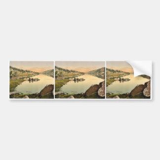 Llanberis y Peris de Lyn, País de Gales Photochrom Etiqueta De Parachoque