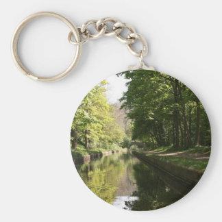 Llangollen Canal Bridge in the Distance Keychain