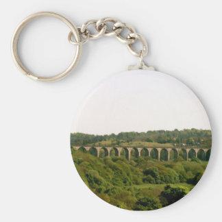 Llangollen Canal Pontcysyllte Aqueduct Keychain