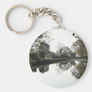 Llangollen Canal Trees Keychain